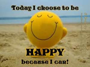 th choose happy