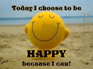 th choose happy