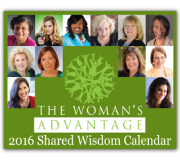 Quote included in Women's Advantage Calender 2016